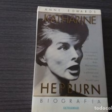 Libros antiguos: KATERINE HEPBURN, BIOGRAFIA. Lote 198092566