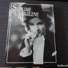 Libros antiguos: SUBLIME MARLENE, POR THIERRY DE NAVACELLE. Lote 198414352