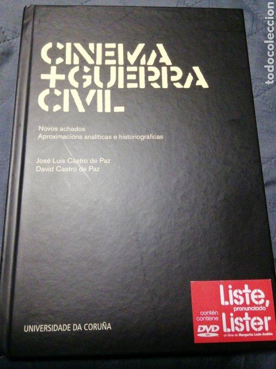 CINEMA+GUERRA CIVIL.NOVOS ACHADOS APROXIMACIÓNS ANALÍTICAS E HISTORIOGRÁFICAS. J. Y D CASTRO DE PAZ (Libros Antiguos, Raros y Curiosos - Bellas artes, ocio y coleccion - Cine)