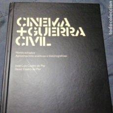 Libros antiguos: CINEMA+GUERRA CIVIL.NOVOS ACHADOS APROXIMACIÓNS ANALÍTICAS E HISTORIOGRÁFICAS. J. Y D CASTRO DE PAZ. Lote 201567083