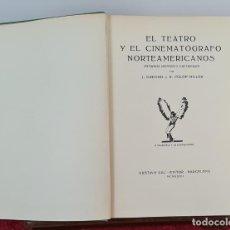 Libros antiguos: EL CINEMATÓGRAFO NORTEAMERICANO. J. GREGOR Y FULOP. EDIT. GUSTAVO GILI. 1932.. Lote 212670888