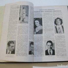 Libros antiguos: ESPECTACULOS-DICCIONARIO BIOGRAFICO FIGURAS DEL CINE-ENCUADERNADOS EN UN LIBRO-VER FOTOS-(V-22.329). Lote 220992336