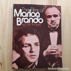 Libros antiguos: THE FILMS OF MARLON BRANDO - TONY THOMAS. Lote 221886968