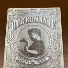 Libros antiguos: LIBRO SOMBRAS MAGICAS OMBROMANIE PREMIER SERIE. Lote 223088893