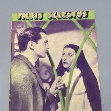 Livros antigos: FILMS SELECTOS. AÑO V. Nº 177. 3 DE MARZO DE 1934. PAGS: 24. VER FOTOS. Lote 223231782