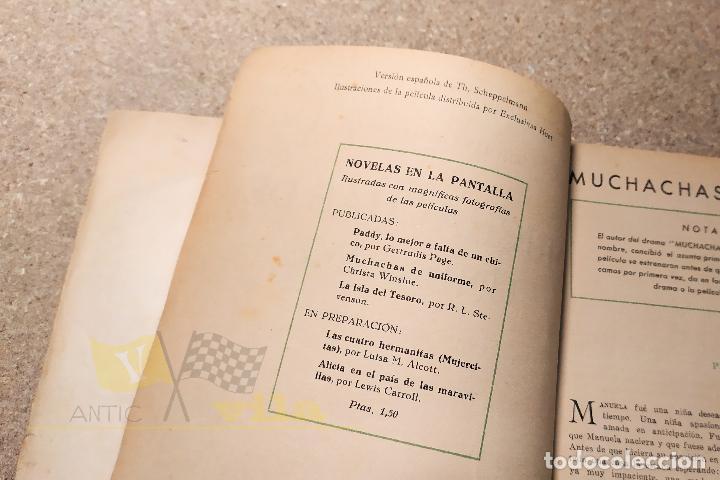 Libros antiguos: Muchachas de uniforme - Christa Wisloe - Foto 9 - 224678751