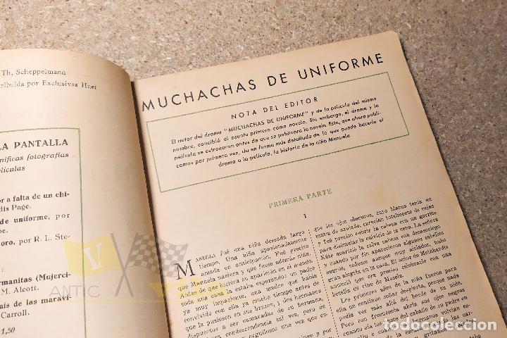 Libros antiguos: Muchachas de uniforme - Christa Wisloe - Foto 10 - 224678751
