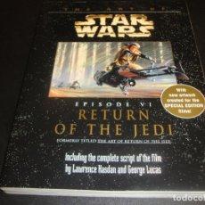 Libros antiguos: THE ART OF STAR WARS EPISODE VI. Lote 225119705