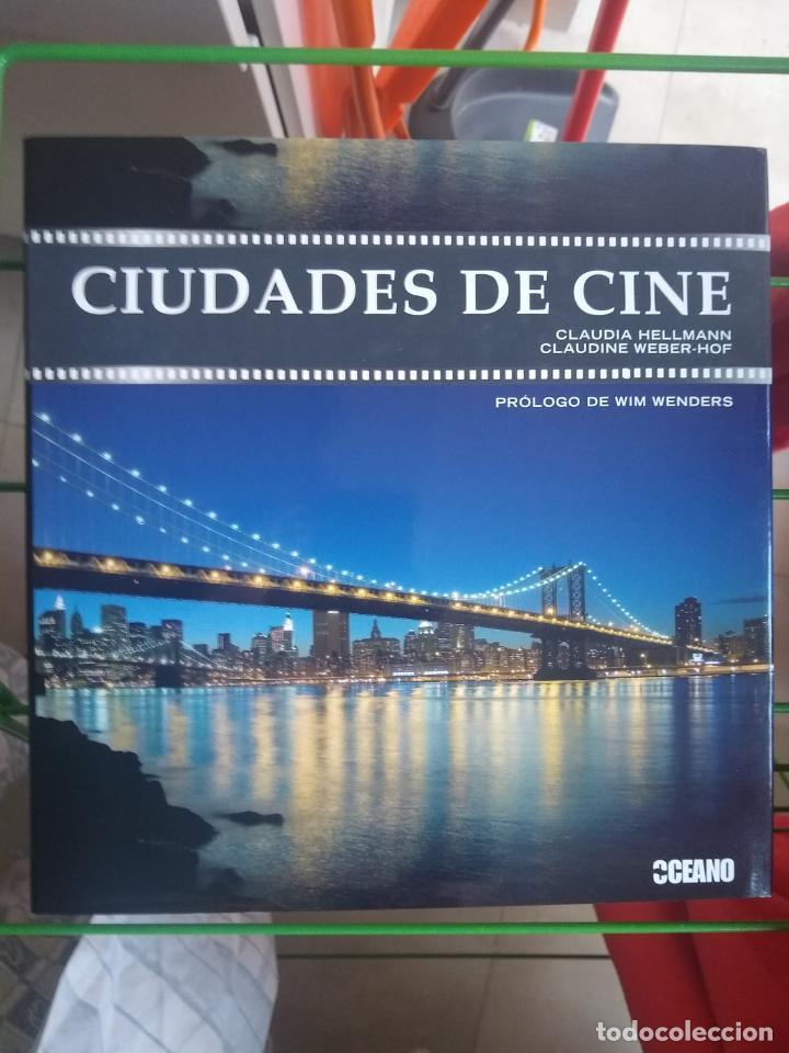 CIUDADES DE CINE - CLAUDIA HELLMANN Y CLAUDINE WEBER-HOF - PROLOGO WIN WENDERS (Libros Antiguos, Raros y Curiosos - Bellas artes, ocio y coleccion - Cine)