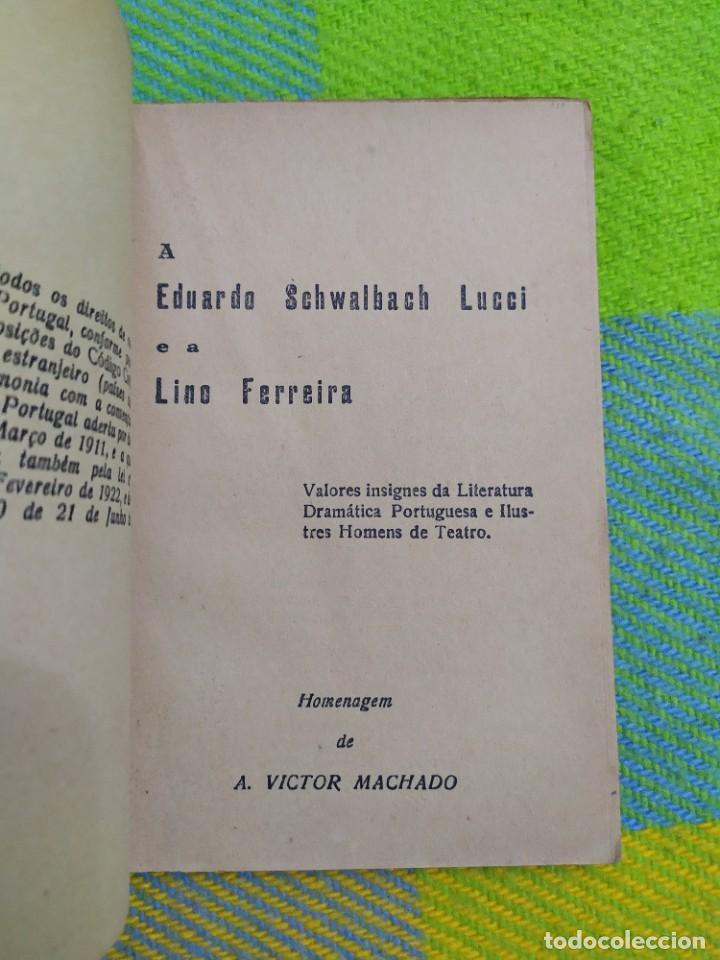 Libros antiguos: 1922. Guia pratico do actor. A. Victor Machado. - Foto 3 - 231565005