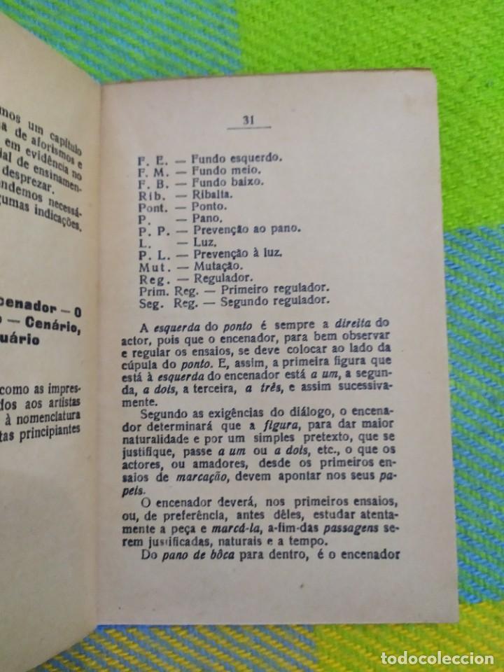 Libros antiguos: 1922. Guia pratico do actor. A. Victor Machado. - Foto 8 - 231565005