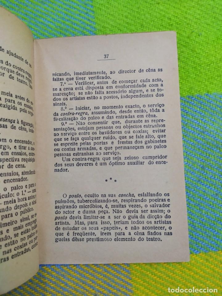 Libros antiguos: 1922. Guia pratico do actor. A. Victor Machado. - Foto 9 - 231565005