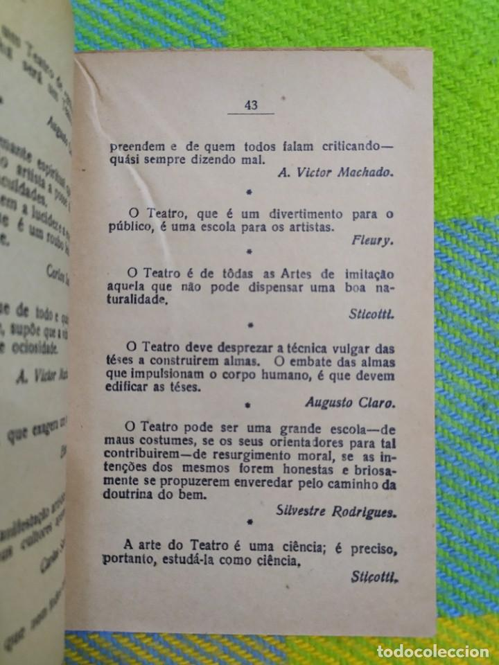 Libros antiguos: 1922. Guia pratico do actor. A. Victor Machado. - Foto 11 - 231565005