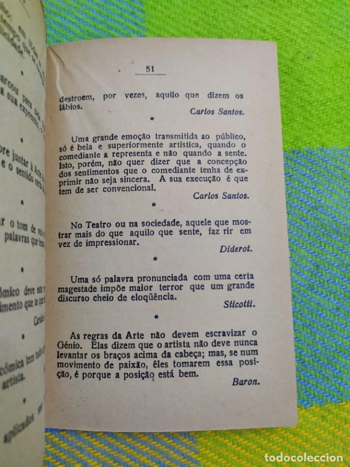 Libros antiguos: 1922. Guia pratico do actor. A. Victor Machado. - Foto 12 - 231565005