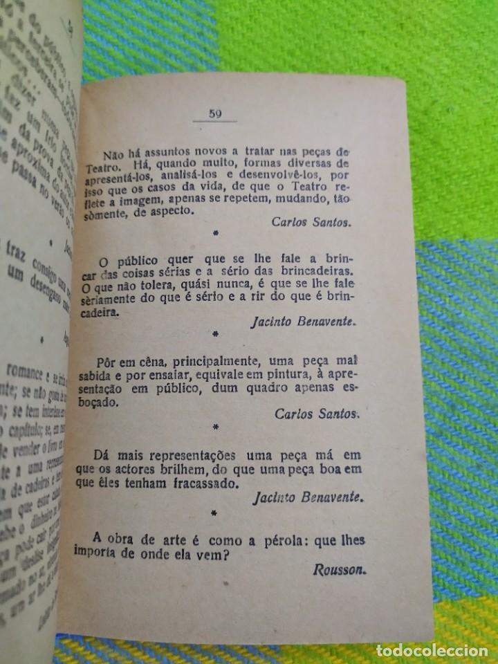 Libros antiguos: 1922. Guia pratico do actor. A. Victor Machado. - Foto 13 - 231565005