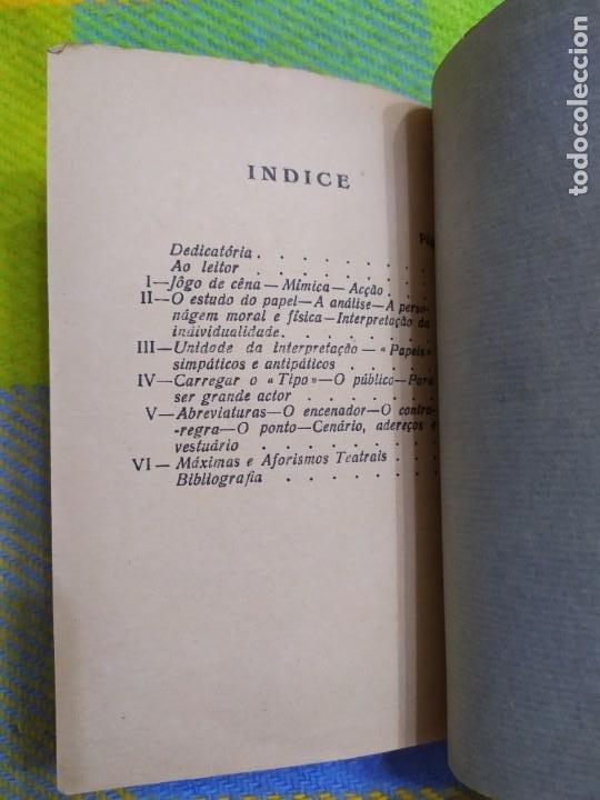 Libros antiguos: 1922. Guia pratico do actor. A. Victor Machado. - Foto 14 - 231565005