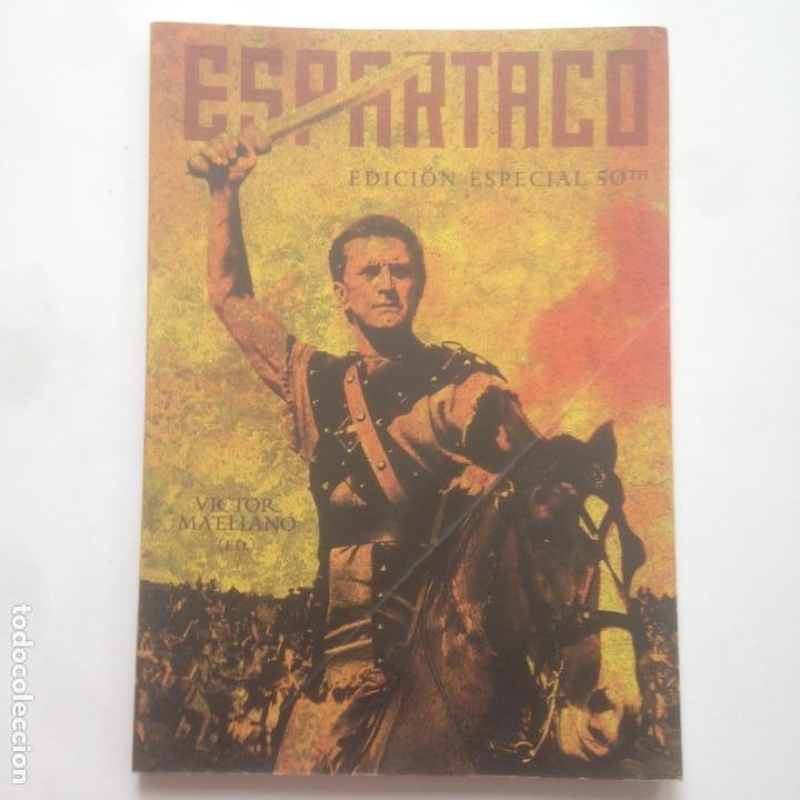 ESPARTACO. EDICION ESPECIAL 50TH - VÍCTOR MATELLANO (ED.) - TB EDITORES - CINE (Libros Antiguos, Raros y Curiosos - Bellas artes, ocio y coleccion - Cine)