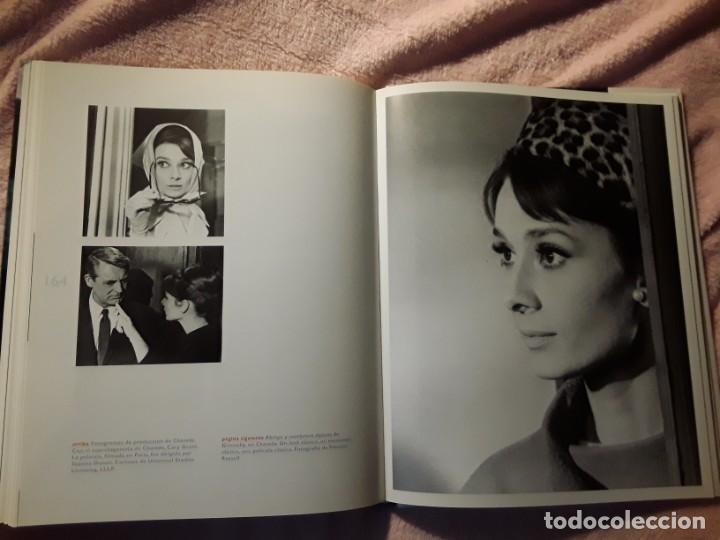 Libros antiguos: Un espíritu elegante (Audrey Hepburn). Libros Cúpula. Excelente estado. Biografía - Foto 6 - 255574765