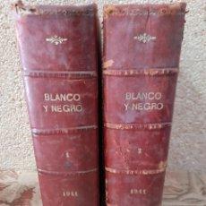 Libros antiguos: BLANCO Y NEGRO 2 TOMOS. Lote 255998780