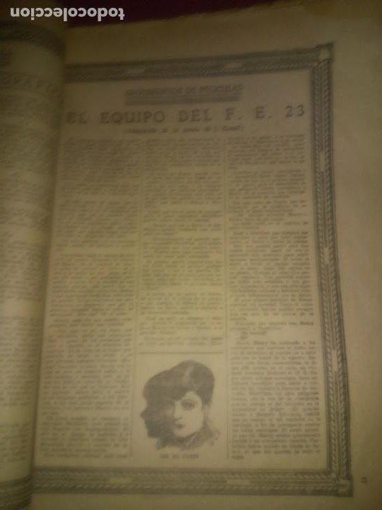 Libros antiguos: EL CINE REVISTA POPULAR ILUSTRADA - AÑOS 1916-18 EN DOS VOLUMENES - CINE.ILUSTRADAS. - Foto 9 - 26691498
