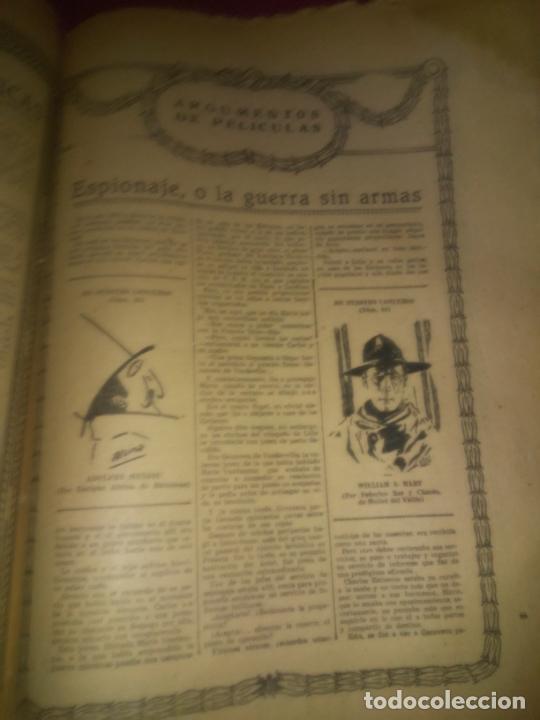 Libros antiguos: EL CINE REVISTA POPULAR ILUSTRADA - AÑOS 1916-18 EN DOS VOLUMENES - CINE.ILUSTRADAS. - Foto 10 - 26691498