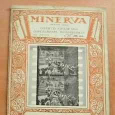 Libros antiguos: CUADERNO MINERVA COM ES CONFECCIONA UN FILM DE J.MASSO VENTOS EN CATALÀ 1918 !!. Lote 264689854