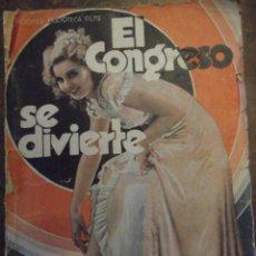 Libros antiguos: EL CONGRESO SE DIVIERTE . LIBRO DE PRIMERO DE SIGLO XX. Lote 270969358