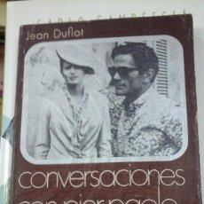 Libros antiguos: CONVERSACIONES CON PIER PAOLO PASOLINI (BARCELONA, 1971). Lote 271649648