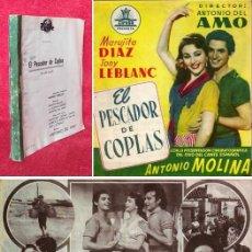 Livres anciens: AÑO 1953 - 28 CM - GUION CINEMATOGRÁFICO ORIGINAL - ANTONIO MOLINA, MARUJITA DIAZ, TONY LEBLANC. Lote 276009913