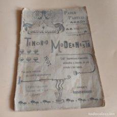 Libros antiguos: TENORIO MODERNISTA.PABLO PARELLADA.REMEMBRUCIA Y JOCUNDA.EN UNA PELICULA Y TRES LAPSOS.1907.39PAGS. Lote 277246603