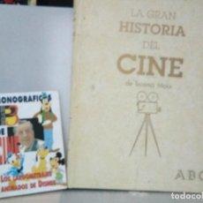 Libros antiguos: LA GRAN HISTORIA DEL CINE ( TERENCI MOIX ) Y SUPLEMENTO PANTALLA 3. Lote 153256814