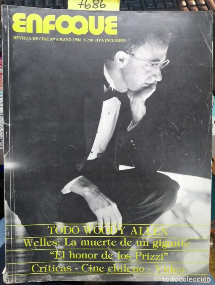 ENFOQUE. REVISTA DE CINE Nº 6, MAYO 1986 (Libros Antiguos, Raros y Curiosos - Bellas artes, ocio y coleccion - Cine)