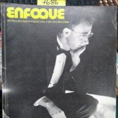 Libros antiguos: ENFOQUE. REVISTA DE CINE Nº 6, MAYO 1986. Lote 193477343
