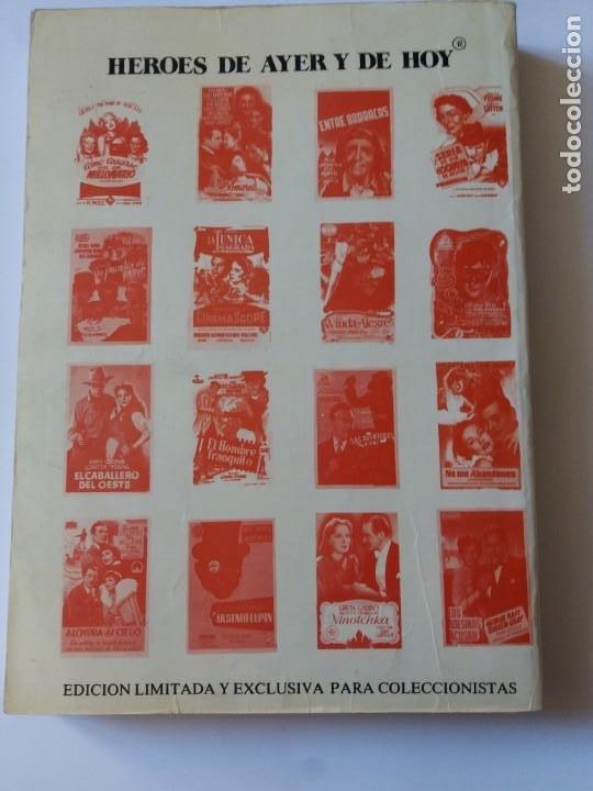 Libros antiguos: LIBRO, CATÁLOGO DE PROGRAMAS DE CINE. HÉROES DE FOLLETOS DE CINE. PRIMER CATÁLOGO EDITADO. - Foto 2 - 286716788