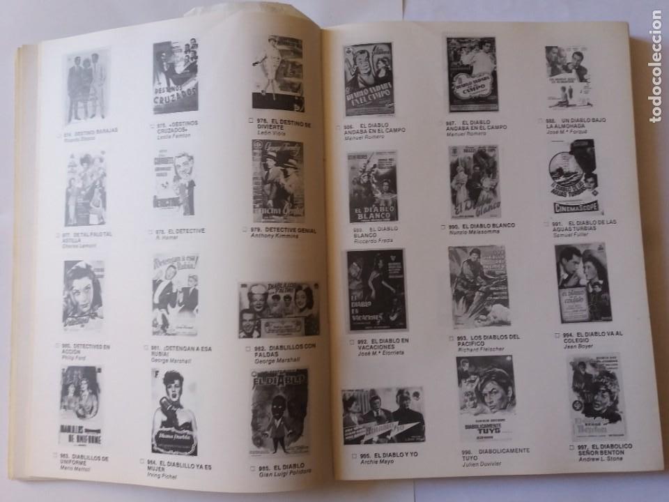Libros antiguos: LIBRO, CATÁLOGO DE PROGRAMAS DE CINE. HÉROES DE FOLLETOS DE CINE. PRIMER CATÁLOGO EDITADO. - Foto 5 - 286716788
