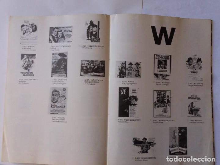 Libros antiguos: LIBRO, CATÁLOGO DE PROGRAMAS DE CINE. HÉROES DE FOLLETOS DE CINE. PRIMER CATÁLOGO EDITADO. - Foto 8 - 286716788