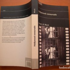 Libros antiguos: HOLLYWOOD CENSURADO / GREGORY D. BLACK. Lote 293240373