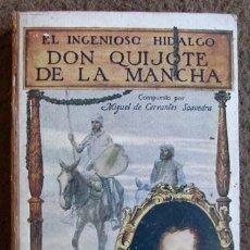 Libros antiguos: DON QUIJOTE DE LA MANCHA, DE CERVANTES. SOPENA 1931. IMPECABLE.. Lote 27516821