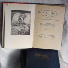 Libros antiguos: DON QUIJOTE, EDICION ANTIGUA EN 4 TOMOS!. Lote 27581812