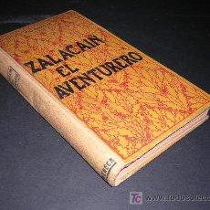 Libros antiguos: CA. 1909 - PIO BAROJA - ZALACAIN EL AVENTURERO. Lote 25182601