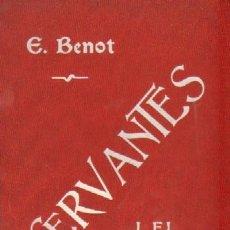Libros antiguos: ESTUDIO ACERCA DE CERVANTES I EL QUIJOTE (A-CERVAN-006). Lote 14869441