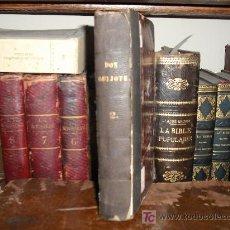 Libros antiguos: 1819 DON QUIJOTE DE LA MANCHA. REAL ACADEMIA ESPAÑOLA. IMPRENTA REAL. GRABADOS DE RIVELLES. TOMO 2. Lote 27145856