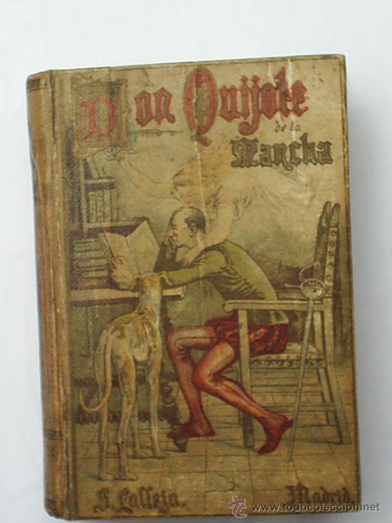 Don quijote de la mancha 1902 miguel de cerva comprar libros antiguos cl sicos en - Libros antiguos mas buscados ...