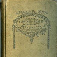 Libri antichi: EL INGENIOSO HIDALGO DON QUIJOTE DE LA MANCHA. Lote 15936398