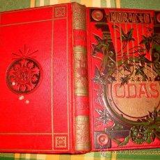 Libros antiguos: ODAS DE HORACIO PRINCIPIOS DE 1900, COLECCIÓN E INTRODUCCIÓN DE MENENDEZ PELAYO. Lote 26966041