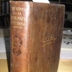 Libros antiguos: AGUILAR. TRADUCCIONES PERUANAS COMPLETAS. EDICIÓN Y PRÓLOGO DE EDITH PALMA. RICARDO PALMA. Lote 26231750