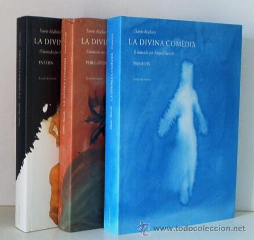 LA DIVINA COMEDIA - DANTE ALIGHIERI - 3 TOMOS - OBRA ILUSTRADA POR MIQUEL BARCELO (Libros antiguos (hasta 1936), raros y curiosos - Literatura - Narrativa - Clásicos)