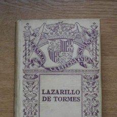 Libros antiguos: VIDA DE LAZARILLO DE TORMES (LA) Y DE SUS FORTUNAS Y ADVERSIDADES. . Lote 17873362