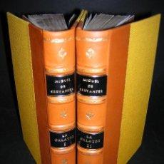 Libros antiguos: 1784 - CERVANTES SAAVEDRA - LOS SEIS LIBROS DE LA GALATEA - ANTONIO SANCHA. Lote 27239079