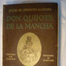 Libros antiguos: EL QUIJOTE ILUSTRADO POR DORÉ. EDITORIAL BAUZA. 1930. Lote 26495560